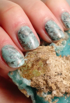 Stone Nails Are the Latest Manicure Trend Dominating Our Instagram Feeds