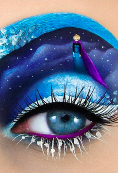 This Makeup Artist Turns Eyes Into Intricate Works of Art