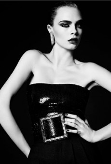 Cara Delevingne Is 'Perfect' for This Saint Laurent Campaign (Forum Buzz)