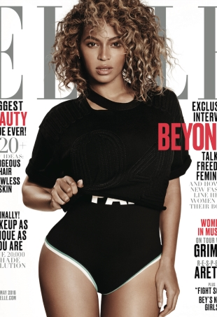 US Elle May 2016 : Beyoncé by Paola Kudacki