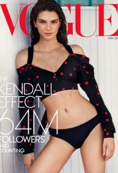 Kendall Jenner Scores an American Vogue Cover — Sort Of (Forum Buzz)