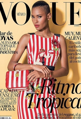Vogue Mexico & Latin America April 2016 : Ysaunny Brito by Jacques Dequeker