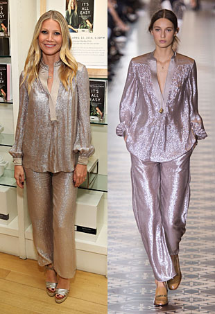 Runway to Real Life: Gwyneth Paltrow in Tory Burch, Lupita Nyong'o in Dolce & Gabbana and More (Forum Buzz)