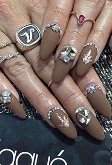 Vanessa Hudgens Spent $190 on Her Pot Leaf-Accented Coachella Nails