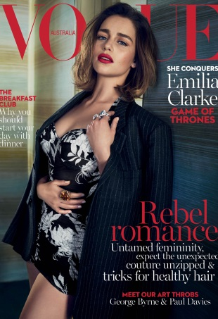 Vogue Australia May 2016 : Emilia Clarke by Emma Summerton