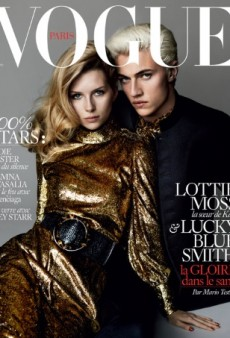 Lottie Moss and Lucky Blue Smith Pose for Vogue Paris' 'Desperate' May Cover (Forum Buzz)