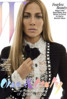 Jennifer Lopez as You've Never Seen Her Before on W's May Cover (Forum Buzz)