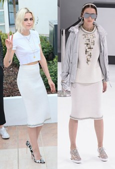 Runway to Real Life: Kristen Stewart in Chanel, Blake Lively in Giambattista Valli and More (Forum Buzz)