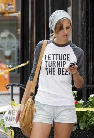 Lettuce Portrait