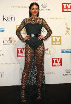 Jesinta Campbell Doesn't Care What Anyone Thinks of Her Logies Dress