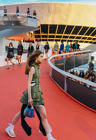Louis Vuitton made its way to Rio de Janeiro for the fashion house's Resort 2017 runway show.