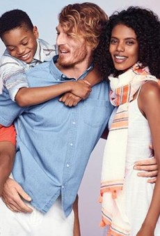 Old Navy's Interracial Ad Broke the Internet