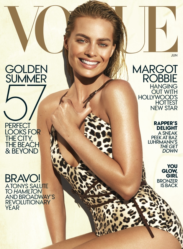 US Vogue June 2016 : Margot Robbie by Mert Alas & Marcus Piggott