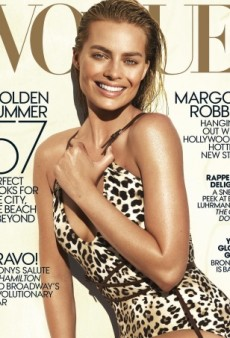 Margot Robbie Does Bronzed Goddess Perfectly on Vogue's June Cover (Forum Buzz)
