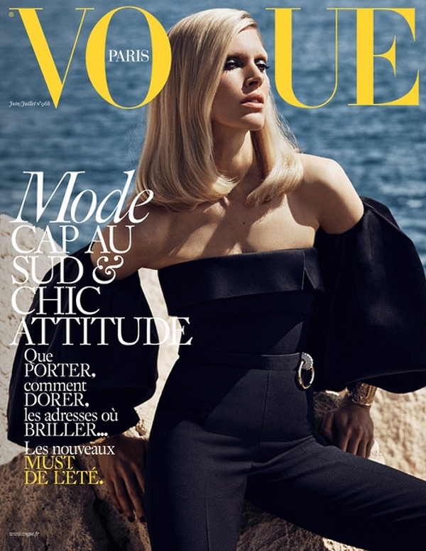 Vogue Paris June/July 2016 : Iselin Steiro by Mikael Jansson