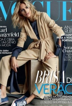Anja Rubik Does Laid-Back Luxe for Vogue Portugal (Forum Buzz)