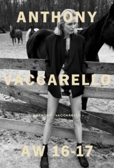 Eva Herzigova Hits the Stud Farm for Anthony Vaccarello's Fall 2016 Campaign (Forum Buzz)