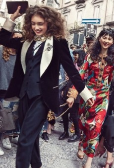 Oops! Dolce & Gabbana Shows an Armani Handbag in Its Fall 2016 Ad Campaign (Forum Buzz)