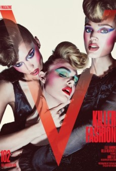 V Magazine's Killer Covers With the Cast of 'The Neon Demon' Thrill Forum Members (Forum Buzz)