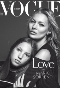 Kate Moss and Daughter Lila Grace Pose Together on Vogue Italia's July Cover (Forum Buzz)