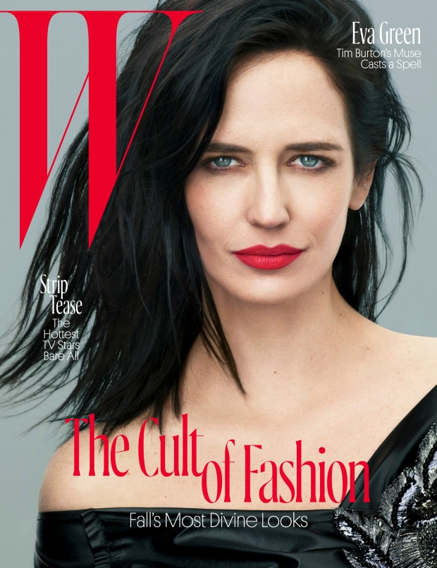 W August 2016 : Eva Green by Mert Alas & Marcus Piggott