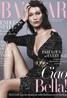 Bella Hadid Scores Another Gorgeous Cover, Starring on Harper's Bazaar Australia (Forum Buzz)