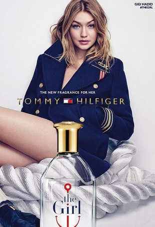 Tommy Hilfiger 'The Girl' Fragrance 2016 : Gigi Hadid by Mikael Jansson