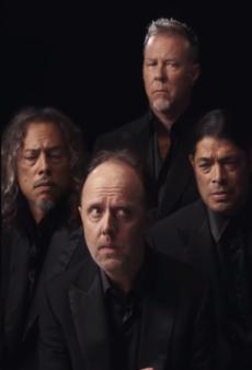 Metallica Stars in New Brioni Fashion Shoot
