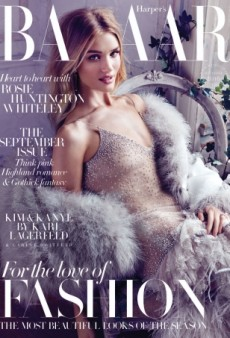 Rosie Huntington-Whiteley Stuns on the September Cover of UK Harper's Bazaar for the Third Year Running! (Forum Buzz)