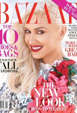 US Harper's Bazaar August 2016 : Gwen Stefani by Alexi Lubomirski