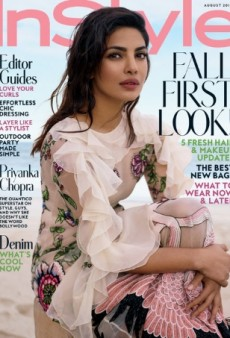 Priyanka Chopra Stars on InStyle's 'Gorgeous and Fresh' August 2016 Cover (Forum Buzz)