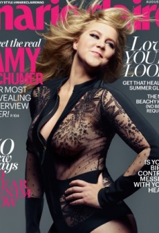 A Windswept Amy Schumer Poses for Marie Claire's August Cover (Forum Buzz)