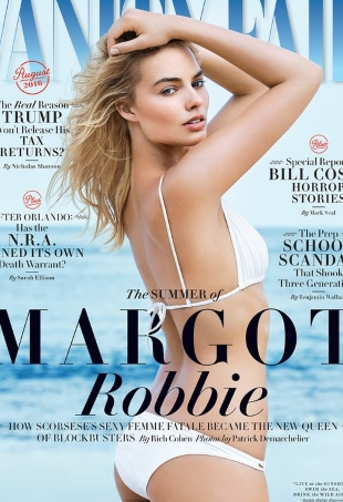 Vanity Fair August 2016 : Margot Robbie by Patrick Demarchelier