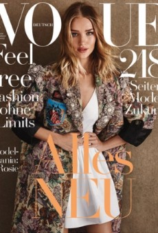Model-Mania: Five Gorgeous Women Vie for Best Cover Girl on Vogue Germany's August Issue (Forum Buzz)