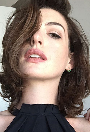 Actress Anne Hathaway took to Instagram to share an empowering message about weight fluctuation.