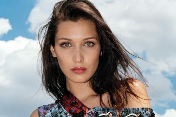 Bella Hadid Vogue September 2016