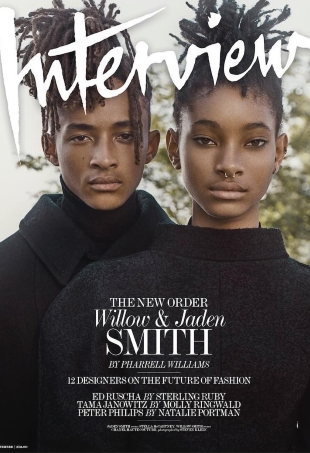 Interview September 2016 : Willow & Jaden Smith by Steven Klein