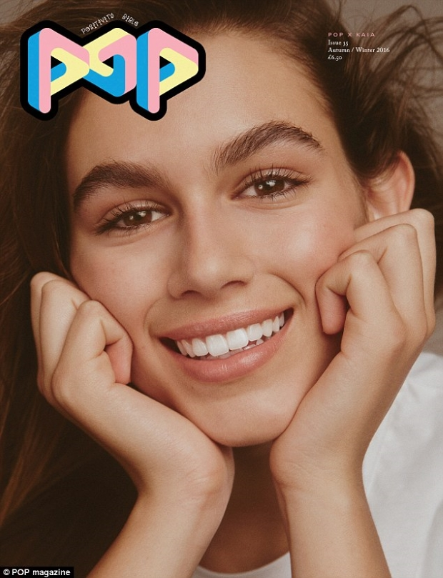 Pop #35 F/W 2016.17 : Kaia Gerber by Charlotte Wales