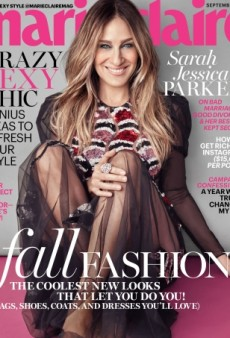 Sarah Jessica Parker Gives Us Her 'Best Magazine Cover In Years' for Marie Claire's September Issue (Forum Buzz)