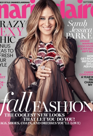 US Marie Claire September 2016 : Sarah Jessica Parker by Michelango di Battista