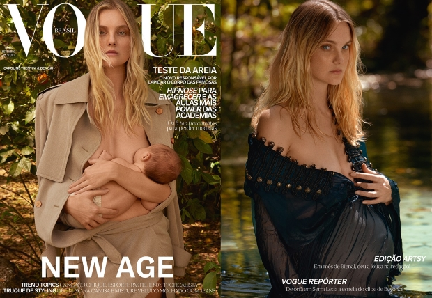 Vogue Brazil September 2016 : Caroline Trentini by Zee Nunes