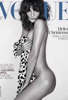 Helena Christensen Strips Down on Vogue Portugal's September Cover (Forum Buzz)