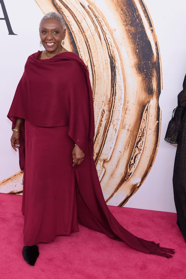 Bethann Hardison attends the 2016 CFDA Fashion Awards.
