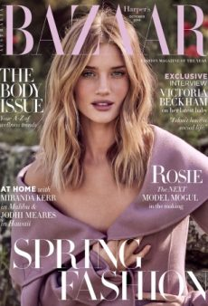 Rosie Huntington-Whiteley Looks Dreamy on Harper's Bazaar Australia (Forum Buzz)