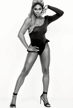 Laverne Cox aka Sasha Fierce.