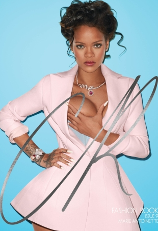 CR Fashion Book #9 : Rihanna by Terry Richardson