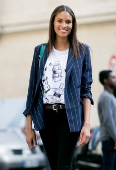How to Dress Like an Off-Duty Model