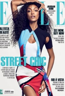 Jourdan Dunn Gives Us Major Donna Summer Vibes on ELLE Brazil's October Cover (Forum Buzz)