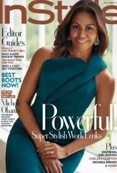 First Lady Michelle Obama Delights on InStyle's Gorgeous and Inviting October Cover (Forum Buzz)