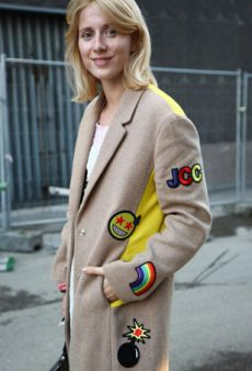 Street Style Trendspotting: Batches of Patches